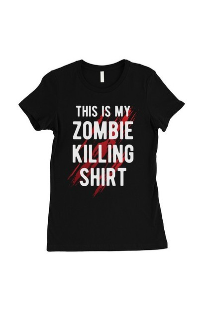 Zombie Killing T-Shirt - orangeshine.com