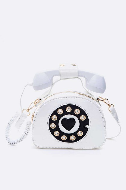 Telephone Iconic Clutch Bag - orangeshine.com