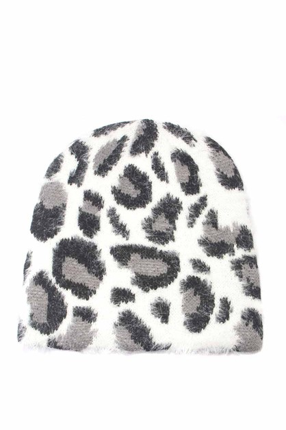 ANIMAL PRINTED  HAT - orangeshine.com