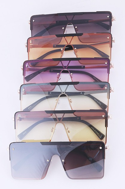 Shield Square Iconic Sunglasses - orangeshine.com