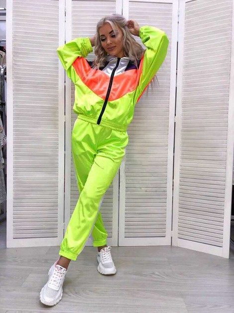 FLORESCENT JOGGING SET 2PC - orangeshine.com