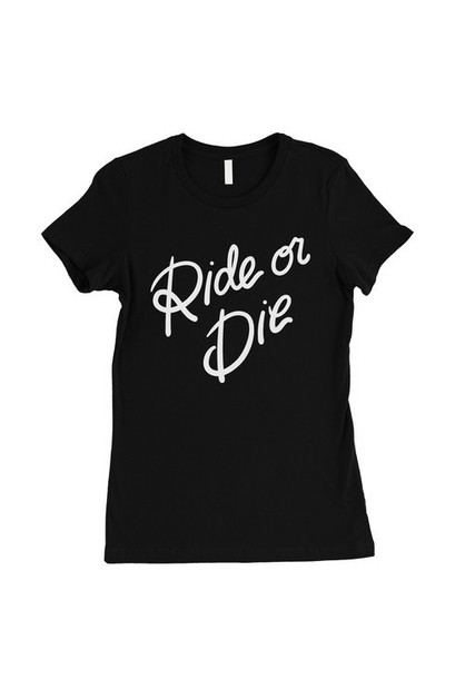 Ride Or Die T-Shirt - orangeshine.com