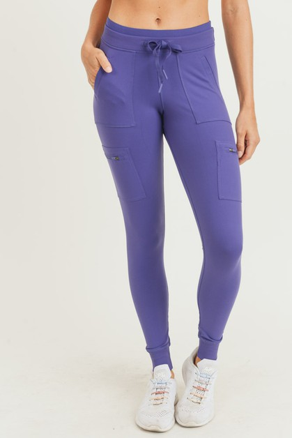 Skinny Cargo Hybrid Full Leggings - orangeshine.com