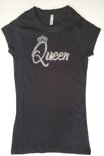 QUEEN with Crown SHIRT - orangeshine.com
