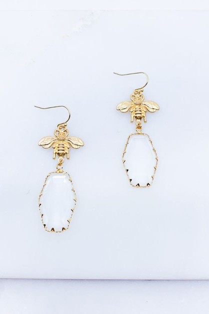 BEE EARRINGS - orangeshine.com