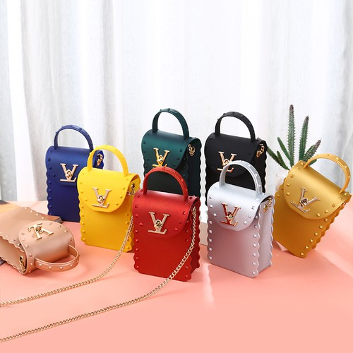Frosted jelly crossbody bags  - orangeshine.com