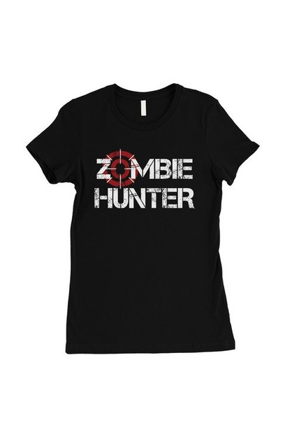 Zombie Hunter T-Shirt - orangeshine.com
