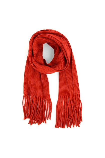 Mens Winter Knit Scarf and Hat Set - orangeshine.com
