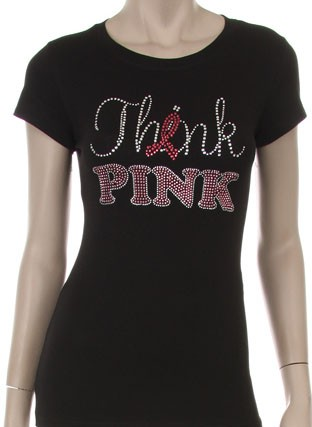 THINK PINK WITH PINK RIBBON  - orangeshine.com