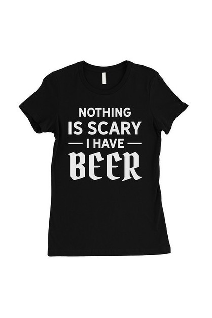 Nothing Scary Beer T-Shirt - orangeshine.com