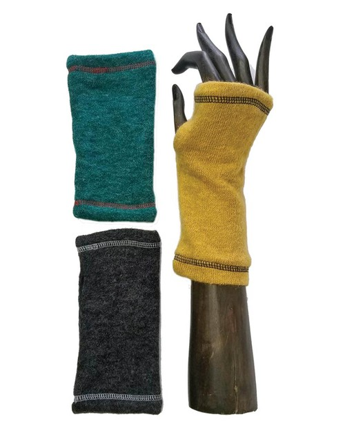 Solid Color Knit Hand-Warmers - orangeshine.com