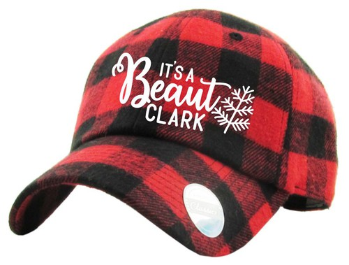 Its a Beaut Clark Red Buffalo Plaid  - orangeshine.com