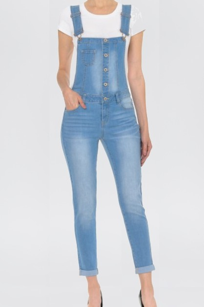 DENIM OVERALS - orangeshine.com