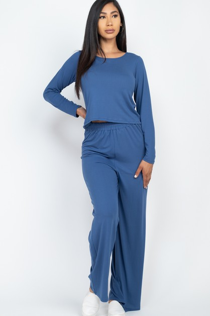 Easy Wear Top and Pants Set - orangeshine.com