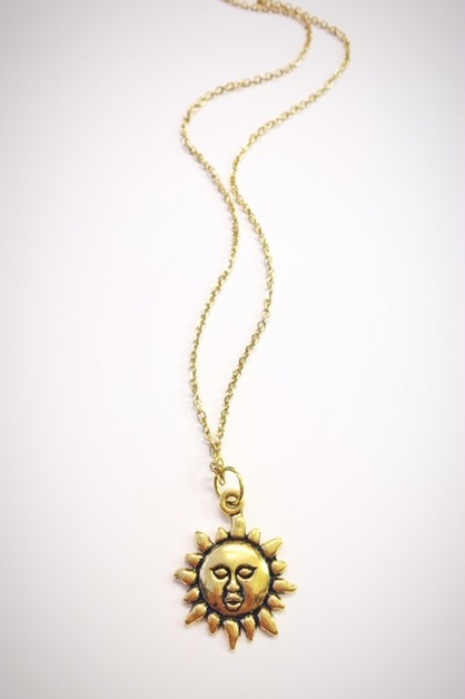 Sunshine necklace - orangeshine.com