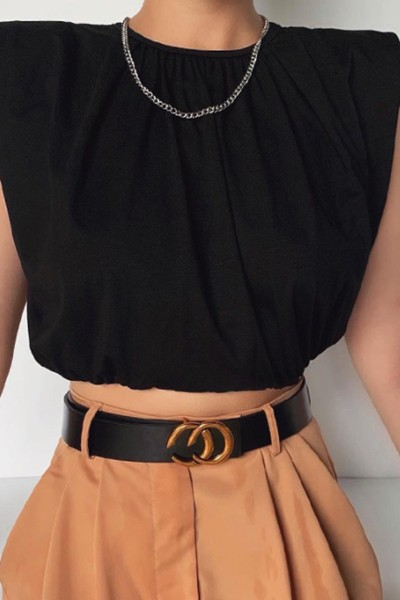 High Waist Base Top - orangeshine.com