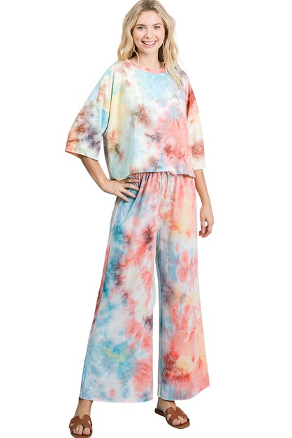 Loungewear Set Tiedye - orangeshine.com
