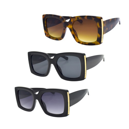 Oversized Square Fashion Sunglasses - orangeshine.com