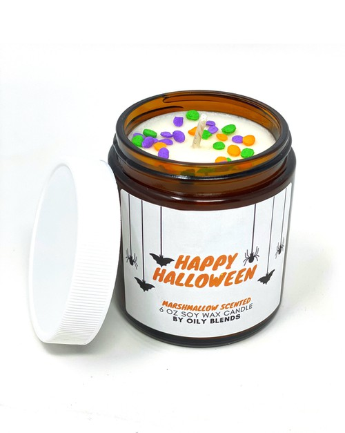 Halloween 6 oz Candles - orangeshine.com