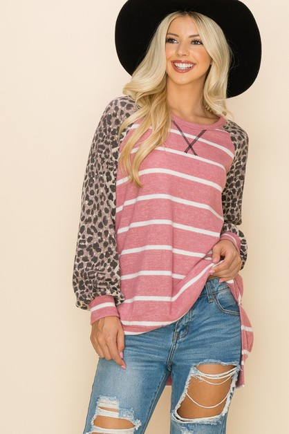 Relaxed Comfortable Fit Top - orangeshine.com