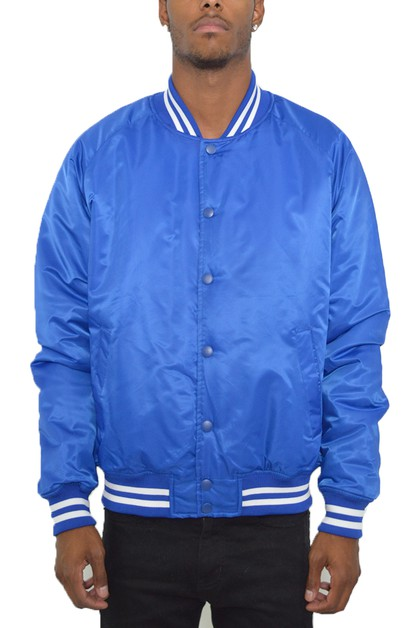 WINDBREAKER VARSITY JACKET - orangeshine.com