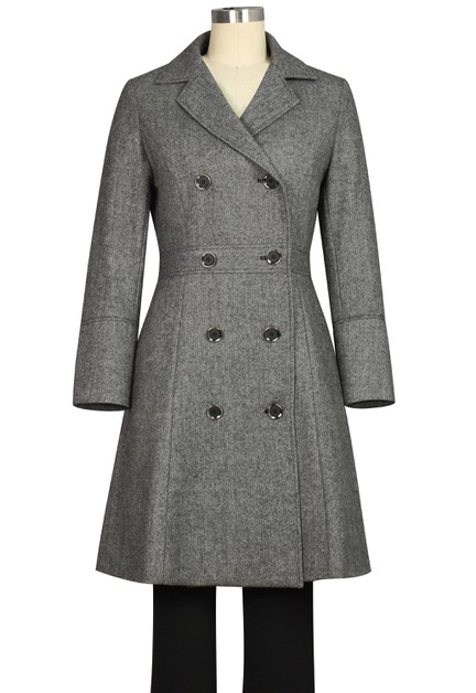 Herringbone Coat - orangeshine.com