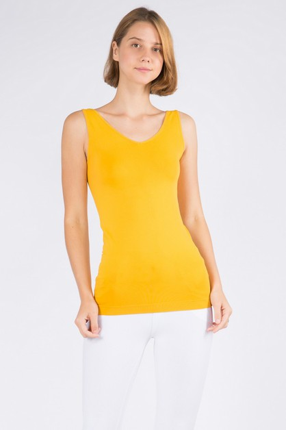 Reversible V or U Neckline Seamless - orangeshine.com