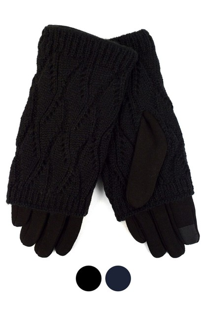 Knitted Touch Screen Womens Gloves - orangeshine.com