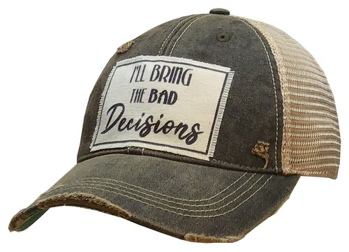 I Will Bring Bad Decisions Trucker  - orangeshine.com