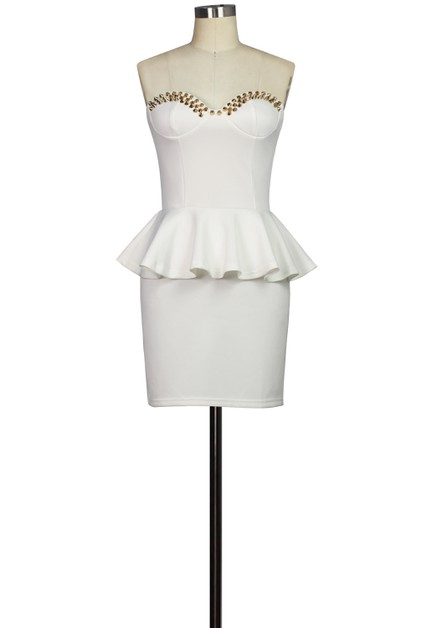 Stud Dress - orangeshine.com
