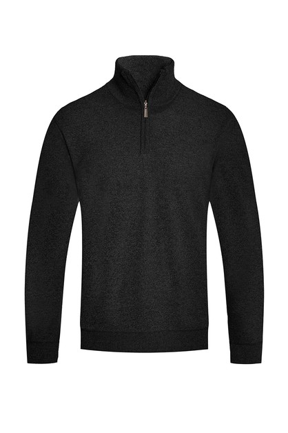 QUARTER ZIP SWEATER - orangeshine.com