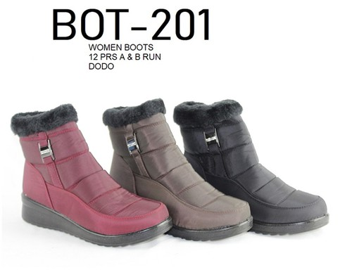 Women low top winter snow boots - orangeshine.com