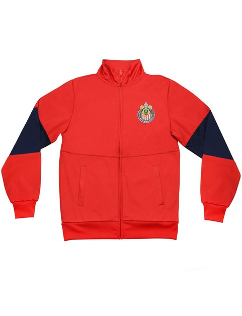 BOYS TOUCHLINE FULL-ZIP TRACK JACKET - orangeshine.com