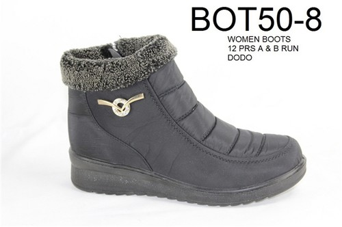 Women low-top winter snow boots - orangeshine.com