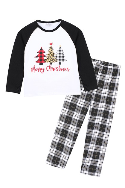 Christmas tree family pajama set  - orangeshine.com