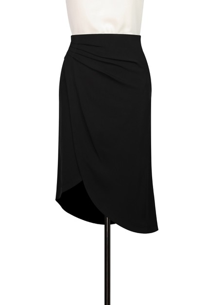 Pleated Wrap Skirt - orangeshine.com