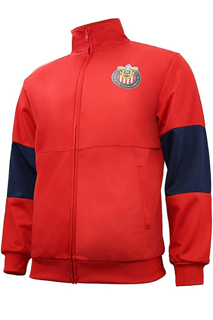 TOUCHLINE FULL-ZIP TRACK JACKET - orangeshine.com