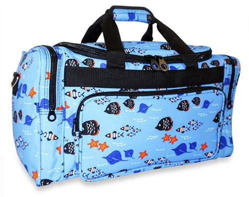 Fish Duffle Bag 19 inch - orangeshine.com