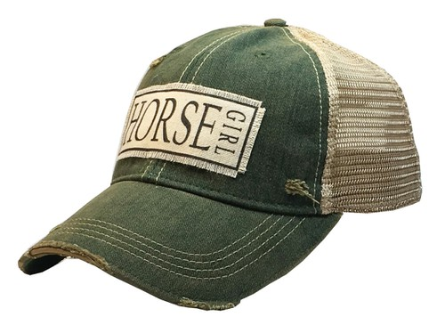 Horse Girl Trucker Hat - orangeshine.com