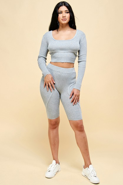 Stretch Knit Lounge SET - orangeshine.com