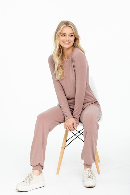 Top and  Jogger Loungewear SET - orangeshine.com