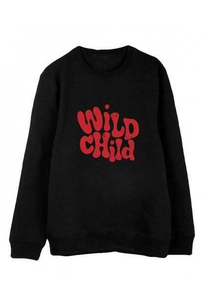WILD CHILD SWEATER - orangeshine.com