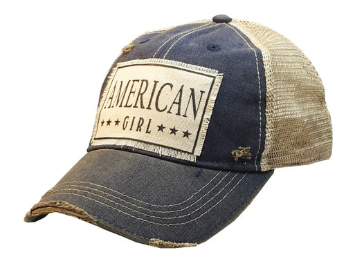 American Girl Trucker Hat - orangeshine.com
