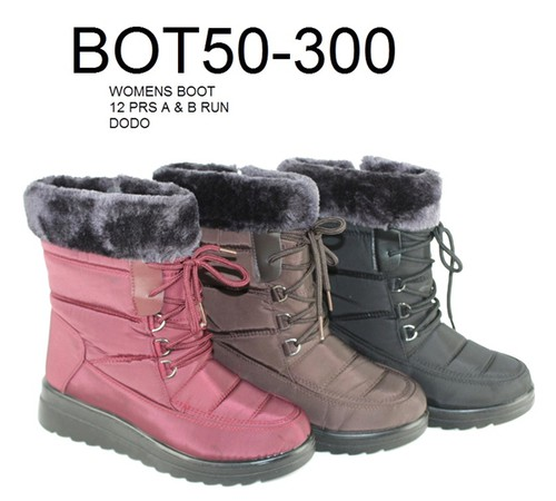 Women Lace up Winter Snow Boots - orangeshine.com