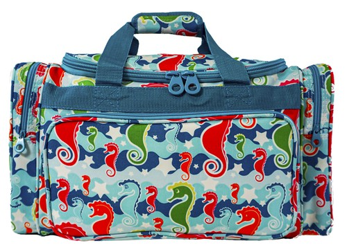 Sea Horse Duffle Bag 19 inch - orangeshine.com
