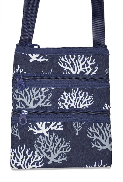 Sea Coral Crossbody Bag - orangeshine.com