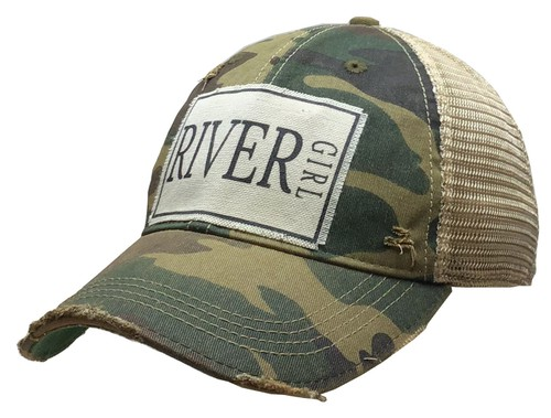 River Girl Trucker Hat - orangeshine.com
