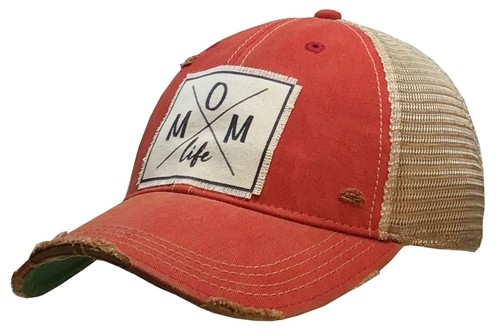 Mom Life Trucker Hat - orangeshine.com