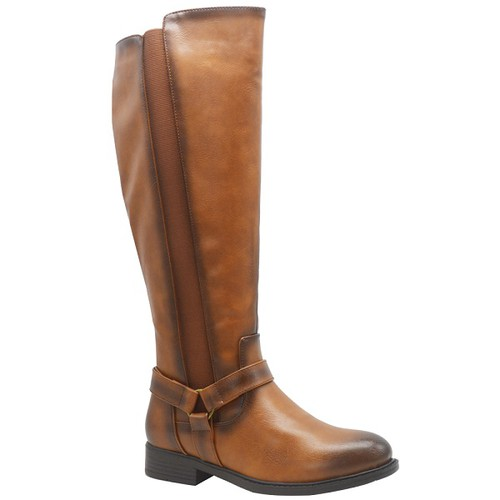 Women Thick-Soled high-Heeled boots - orangeshine.com