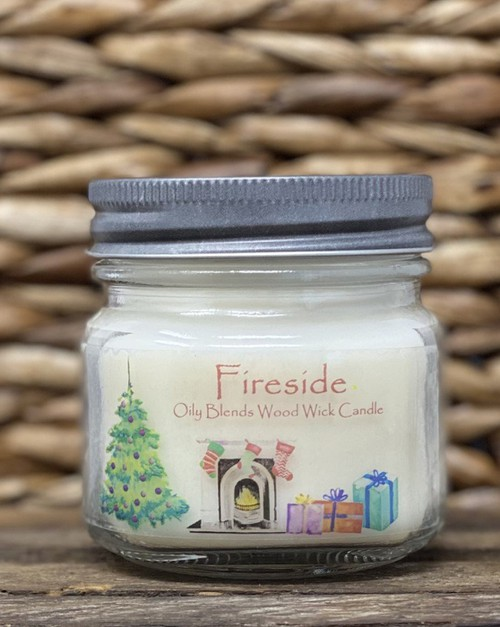WOOD WICK Christmas Soy Wax Candles - orangeshine.com
